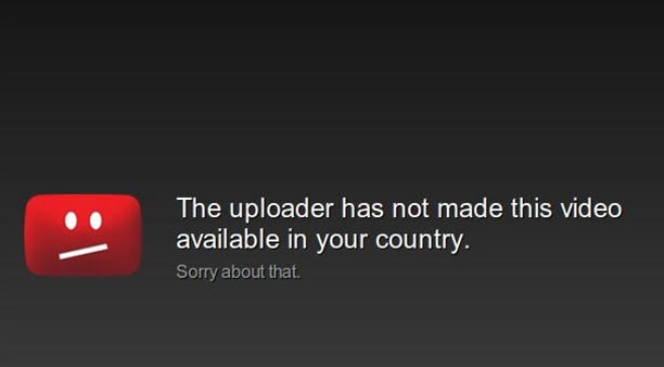 Video not available in my country